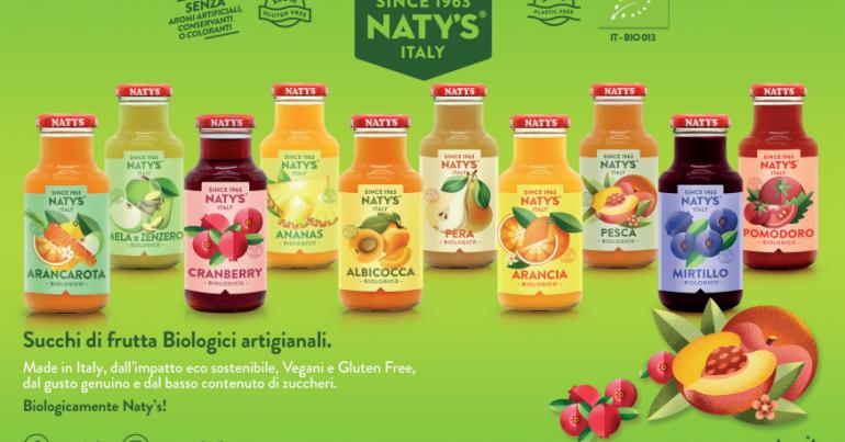 I succhi Naty's diventano BIOartigianali